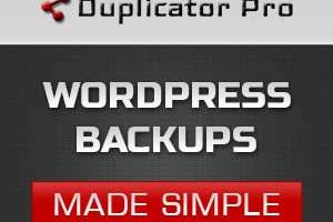 Duplicator Pro: WordPress Backups Made Simple