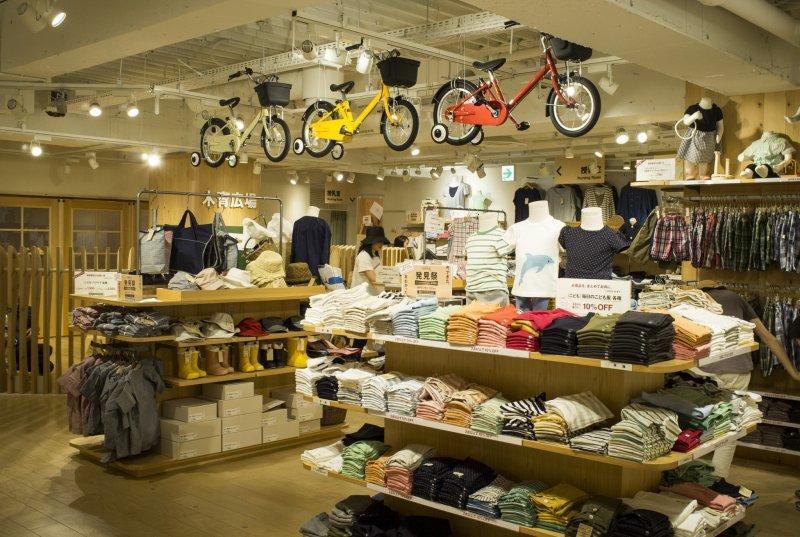 Muji Multilevel Store in Shibuya  Tokyo  Japan Travel