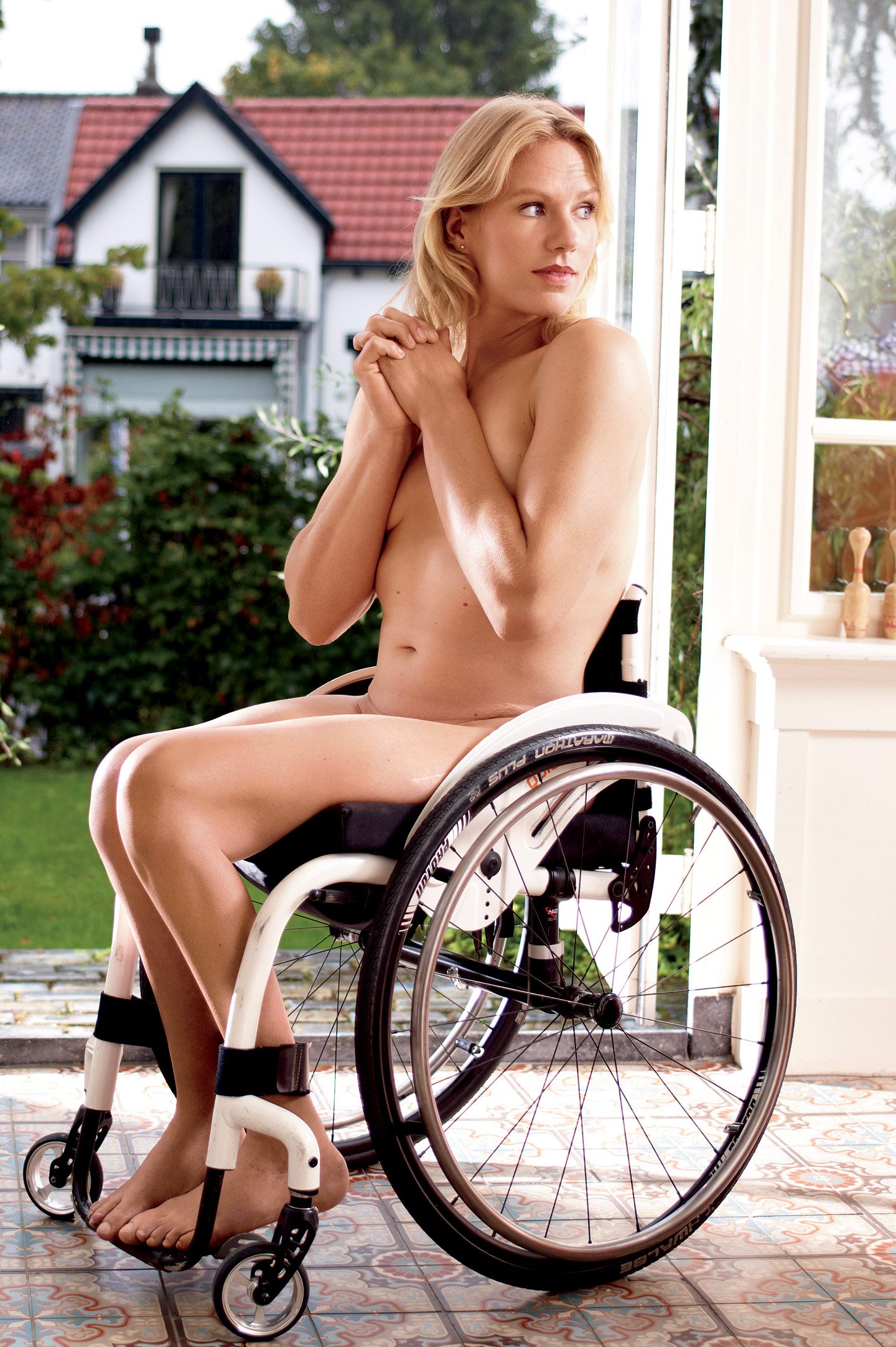 Esther Vergeer, ESPN Body Issue 2010, Bodies We Want, Esther Vergeer Nude,