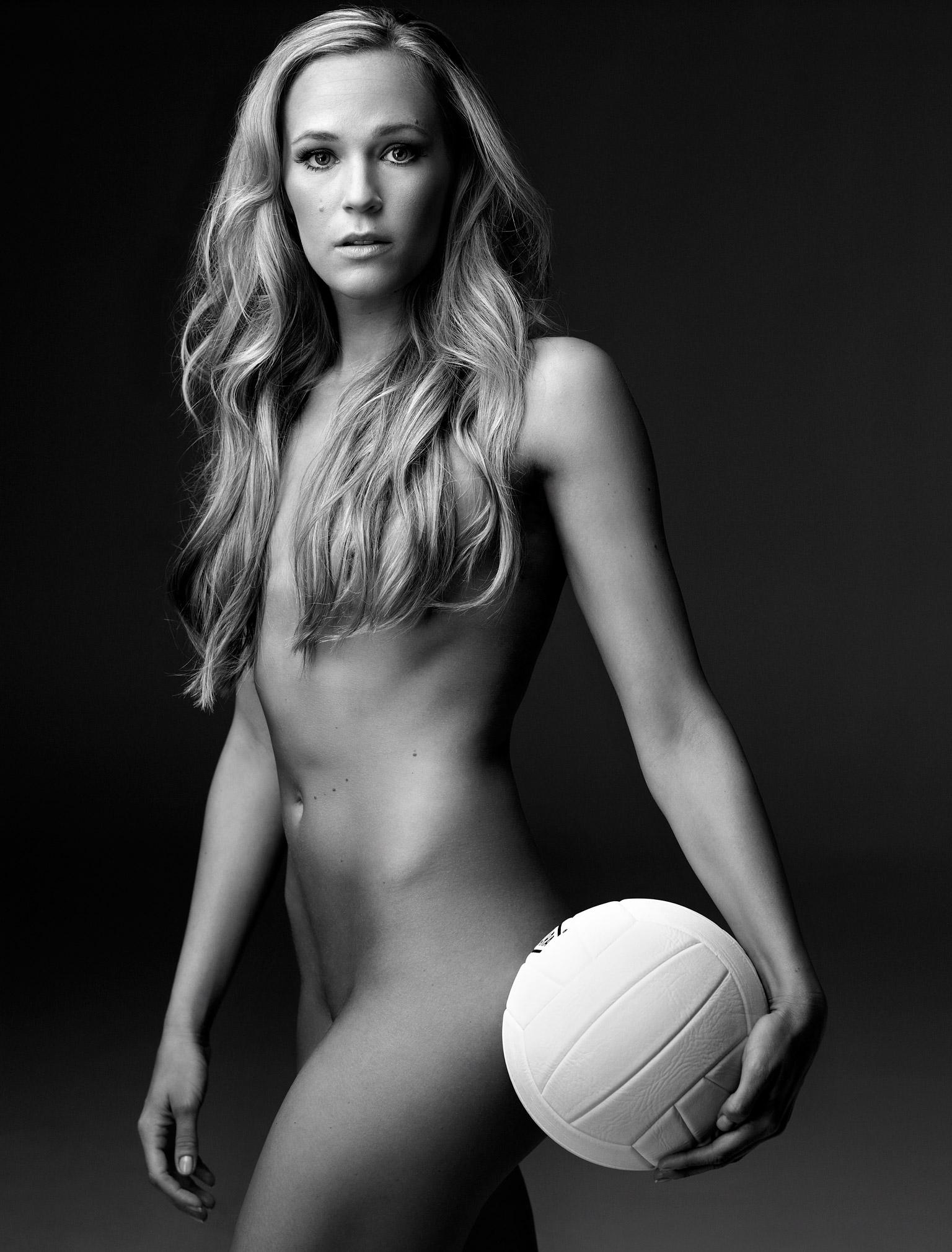 Volleyball Nellie Spicer Art Streiber ESPN Magazine