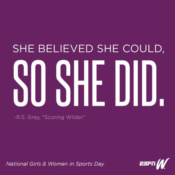 Inspirational Basketball Girl Sport Quote