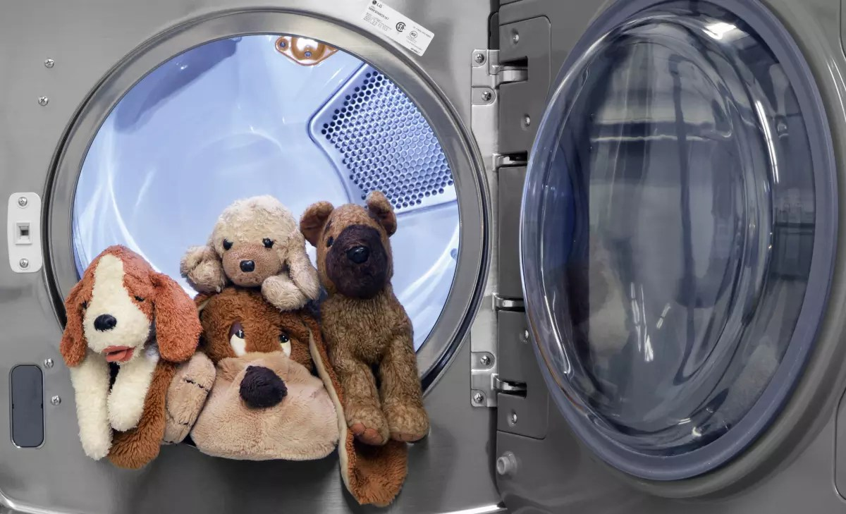 Image result for stuffed animals in washing machine