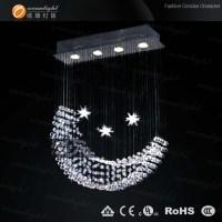 Moon Shape Modern Crystal Pendant Lamp Om9218 - Buy ...