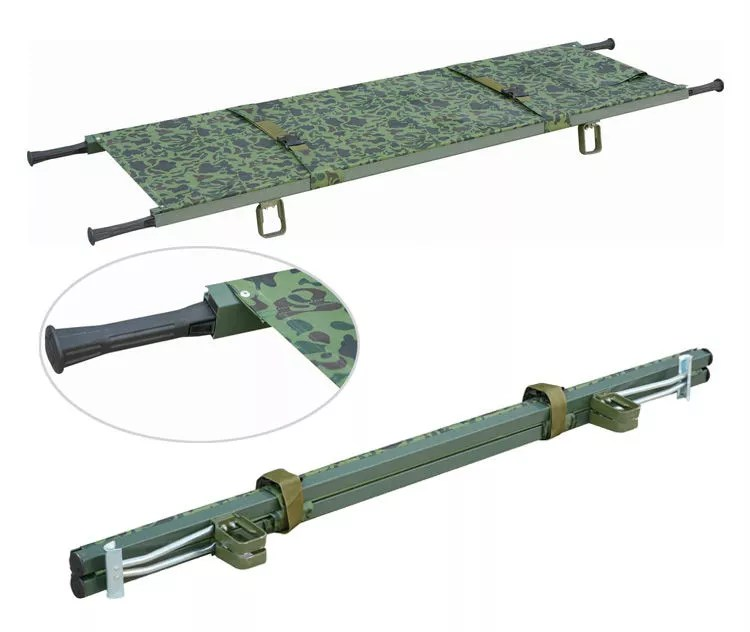 Aluminum stretched canvas stretcher emergency relief for