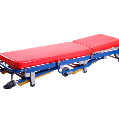 Church Chair Accessories Red And Black Gaming Use Medical Rescue Ambulance Stretcher Trolley For Sale - Buy ...