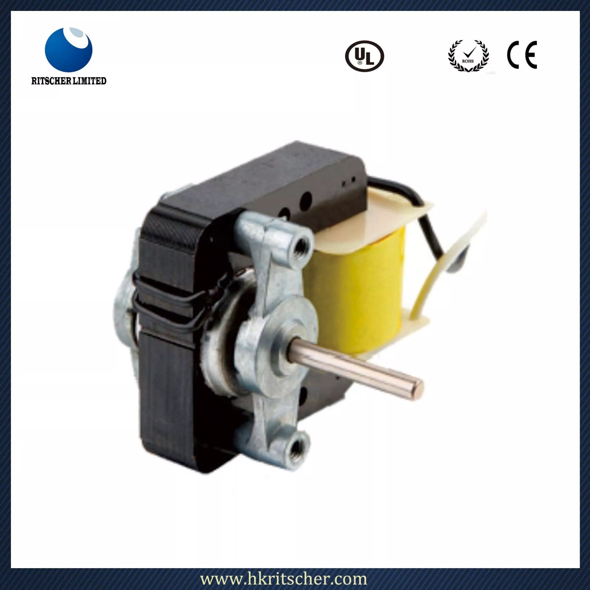 hight resolution of yj 4810 c frame shaded pole motor for ventilation fan