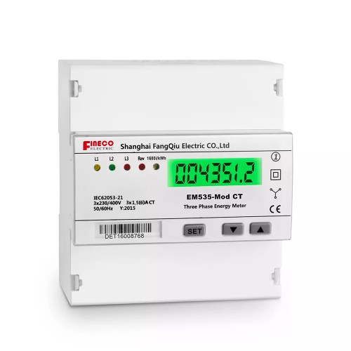 small resolution of em535 mod ct modbus three phase ct connected meter five modular din rail watt hour meter 3 phase 4 wire energy meter rs485 kwh meter buy energy meter
