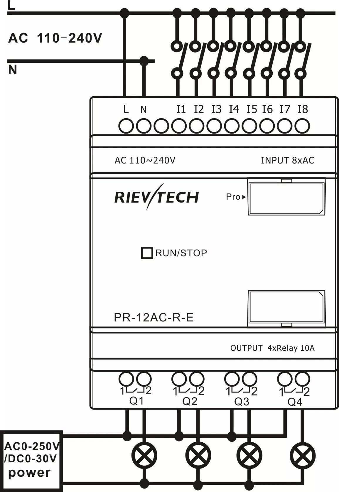 plc schematic symbols