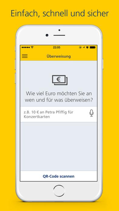 Postbank Finanzassistent - so einfach geht Banking Screenshot
