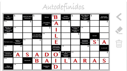 Crucigramas autodefinidos puzzles en español en el App Store