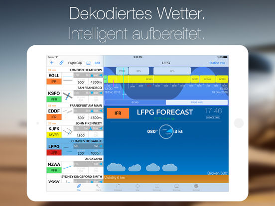 StationWeather+ Aviation Weather and Charts Free Screenshot