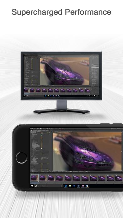 Splashtop Personal - Remote Desktop for iPhone Screenshot
