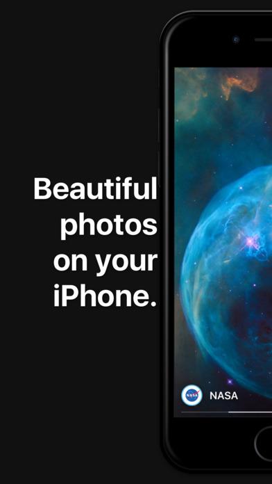 Background - beautiful photos from Unsplash Screenshot