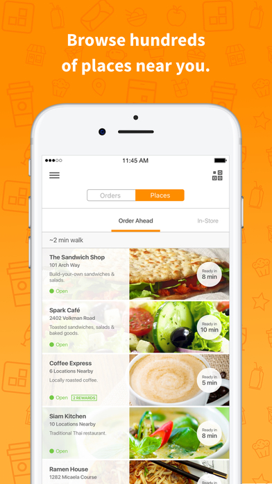 LevelUp .: Grab your lunch faster Screenshot