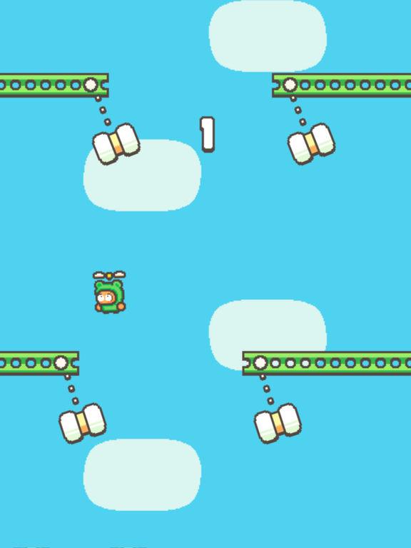 Swing Copters 2 Screenshot