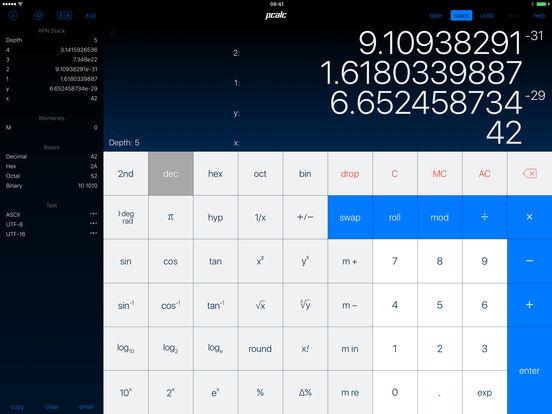 PCalc - Der beste Taschenrechner Screenshot