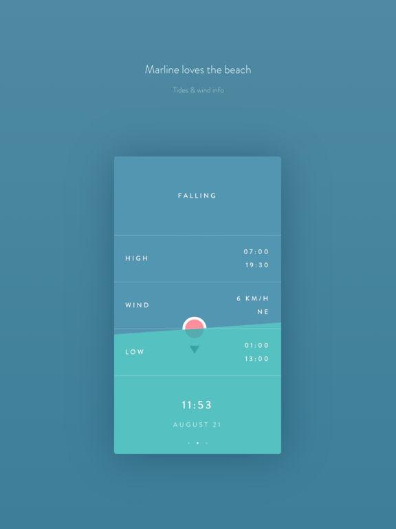 Marline - Weather, Tides & Moon Screenshot