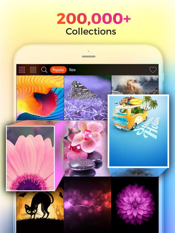 用のクールな壁紙 HD & Retina 無料版 Screenshot