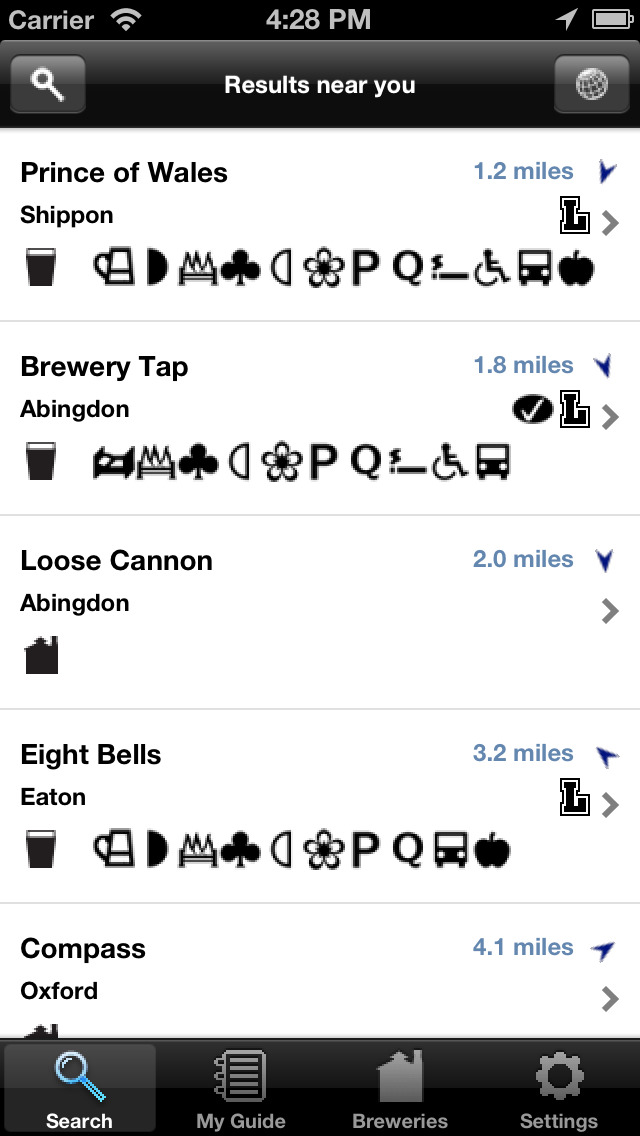 CAMRA Good Beer Guide Mobile (ios)