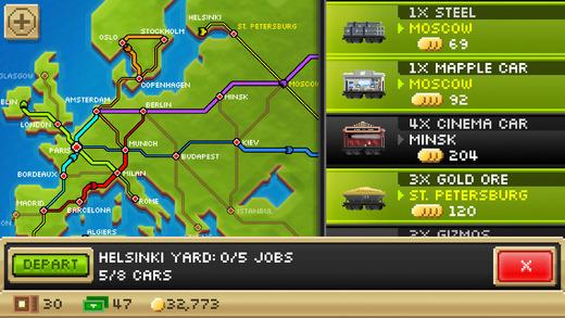 Pocket Trains - Railroad Empire Building Screenshot