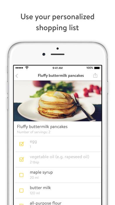 Kitchen Stories - recipes, baking, healthy cooking Screenshot