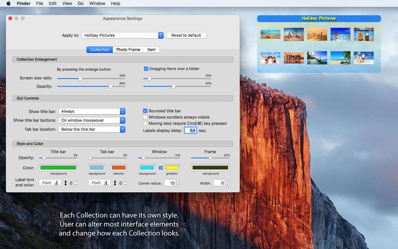 iCollections 6.8.7.68705 Mac 破解版 优秀的桌面文件整理工具