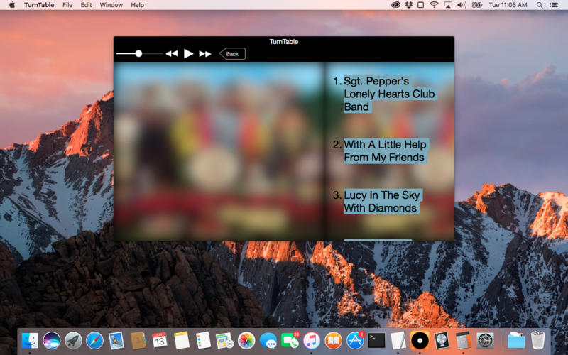 TurnTable for Mac 3.0.1 破解版 - 音乐播放器