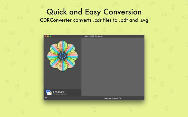 CDRConverter for Mac 1.0.1 破解版 - CDR转换器