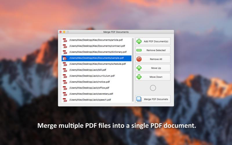 PDF Plus for Mac 1.3.1 破解版 - 小巧实用的PDF文档合并、分割、水印和裁剪应用