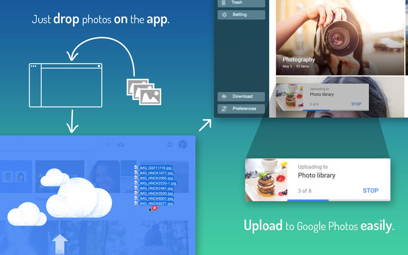 QuickPhotos for Google for Mac 1.1.7 激活版 - Google相册上传管理工具