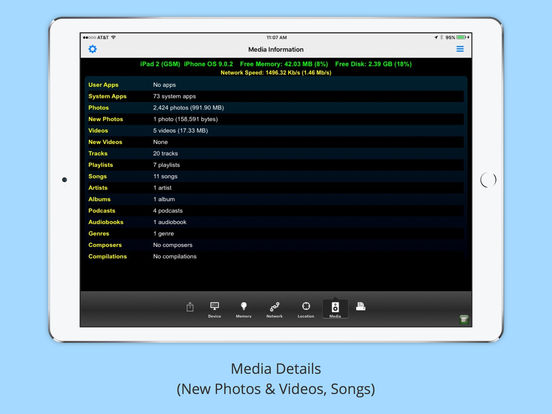 iMySystem - All Your Device Details Screenshot