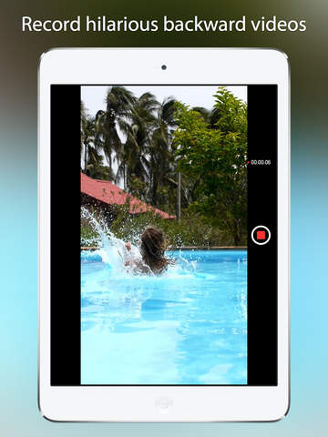 Reverser Cam - Backward Video Camera iPad