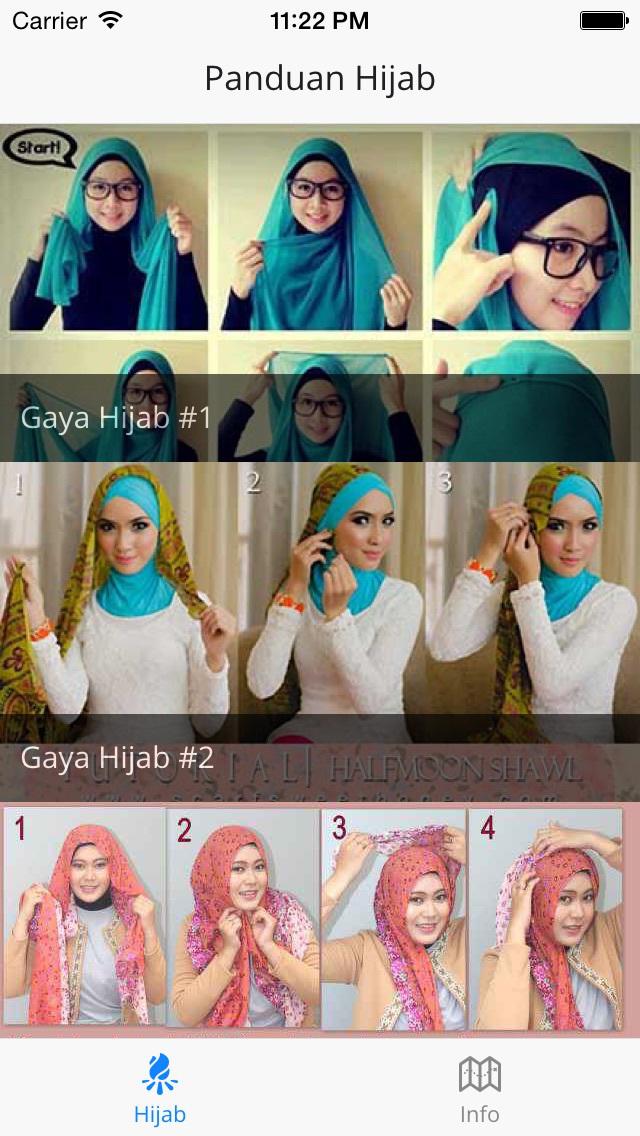 App Shopper Tutorial Hijab  Panduan Hijab dan Jilbab