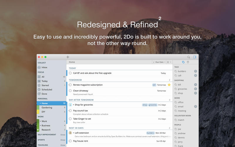 2Do 2 for Mac 2.3 激活版 – 优秀的待办事项管理GTD工具-麦氪派(WaitsUn.com | 爱情守望者)