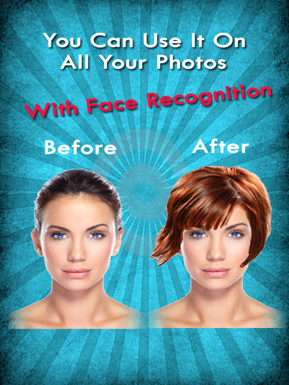 Your Perfect Hairstyle Try On New Look In Seconds On The App Store