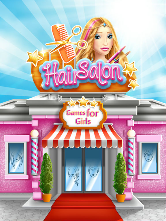Hair Salon Games for Girls Virtual Hairstyles Studio and Makeover Fashion Stylist Tips Cheats