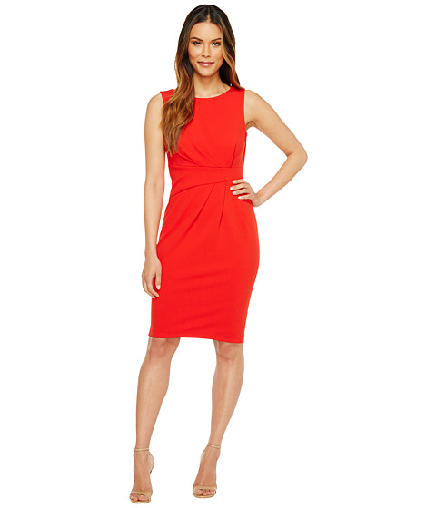 Calvin Klein Ruched Sheath Dress