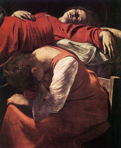 La mort de la Vierge, détail