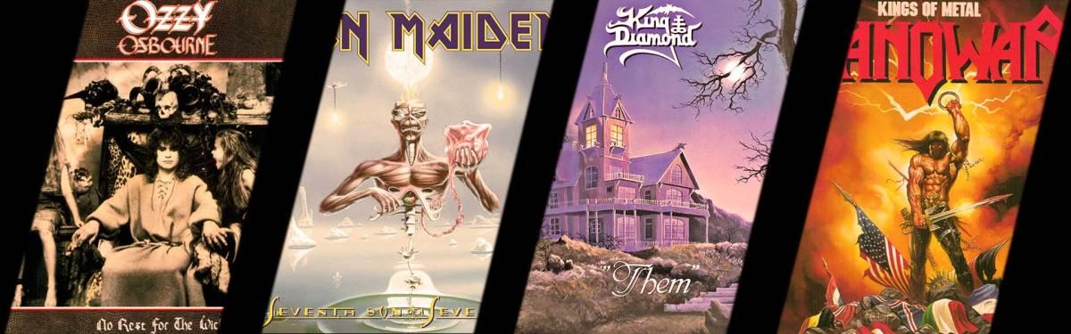 10 álbumes destacados del Heavy Metal de 1988