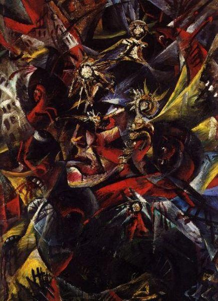 Otto Dix, autoportrait, mars 1915.