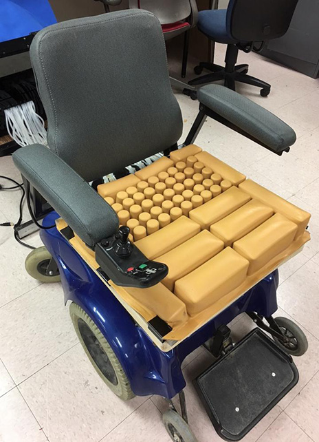 wheelchair cushion corner shower chair smart adaptable prosthetics technology receives university of texas at arlington researchers have recently received a patent for their seat
