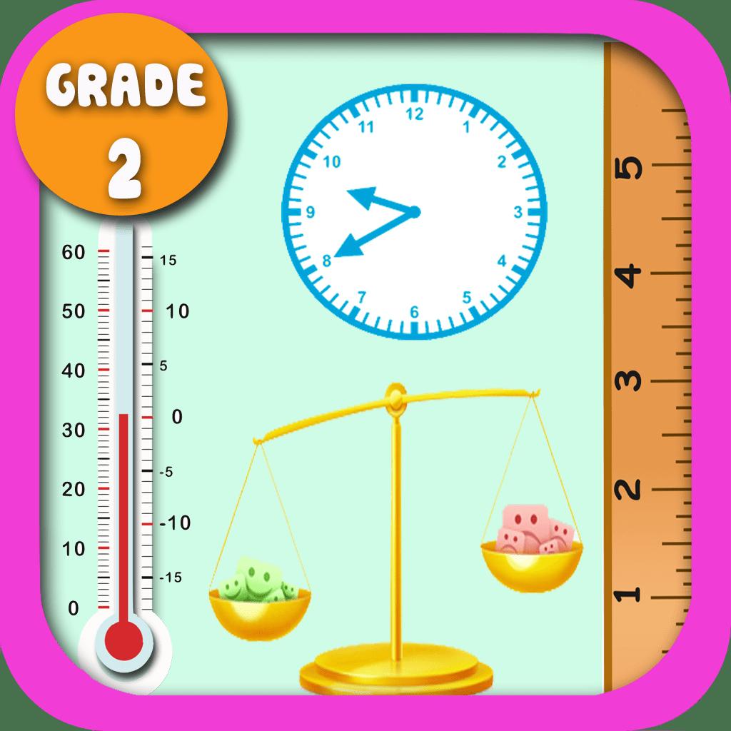 Kids Math Measurement Worksheets Grade 2 By Shixian Li