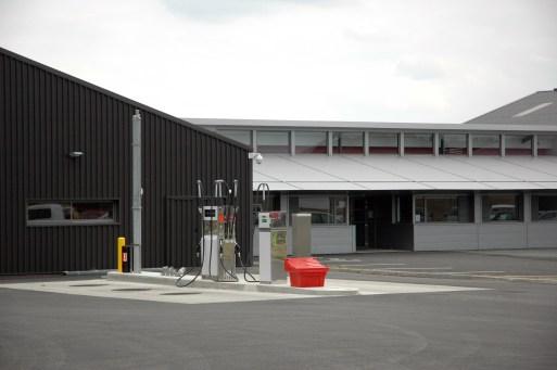 Détail, Services techniques Loire Aubance, Communauté de communes Loire Aubance, Pierre JAHAN, architecte