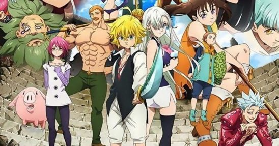 Best Anime series you should watch The seven deadly sins