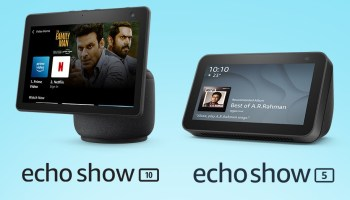 Amazon launches Echo Show 5 and Echo Show 10 with large displays and cameras for video calling