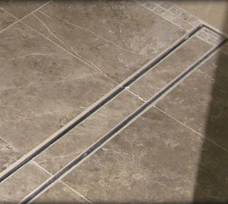 tile insert luxe linear drains