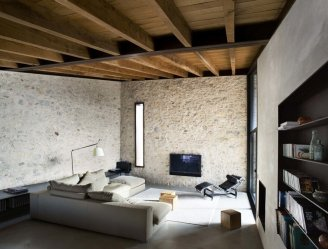 Medieval House Gets a Contemporary Renovation in Catalonia