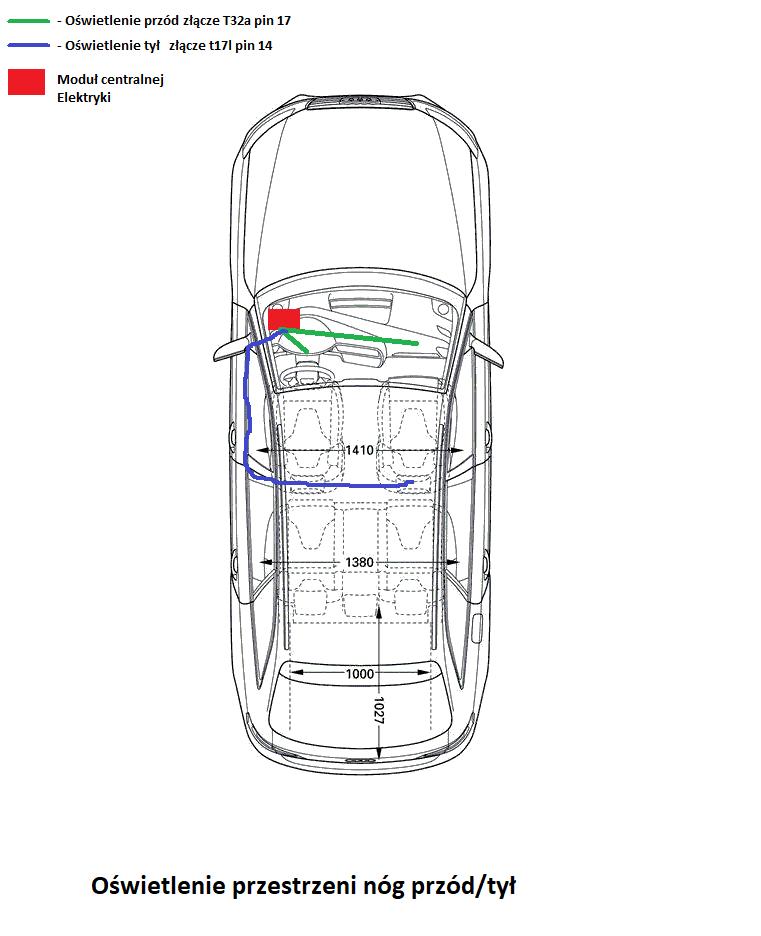 Montaz Pakietu wewnętrznego QQ1 oswietlenia przestrzeni