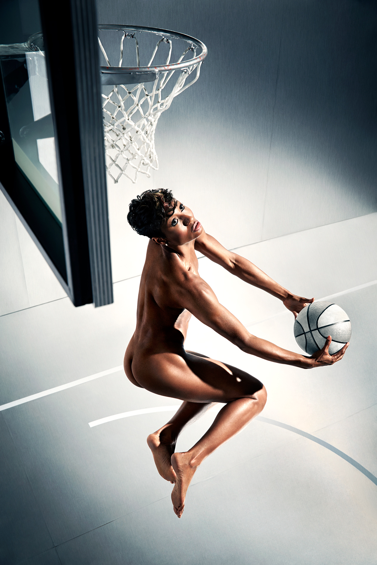 Angel McCoughtry, ESPN Bodies We Want 2014, The Body issue, Angel McCoughtry Naked