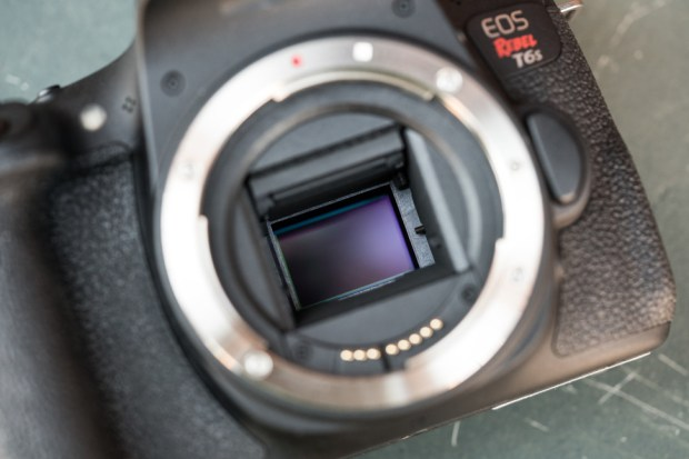Canon Rebel T6s Mirror